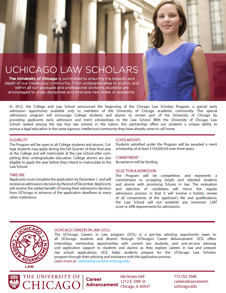 Chicago Law Scholars Program