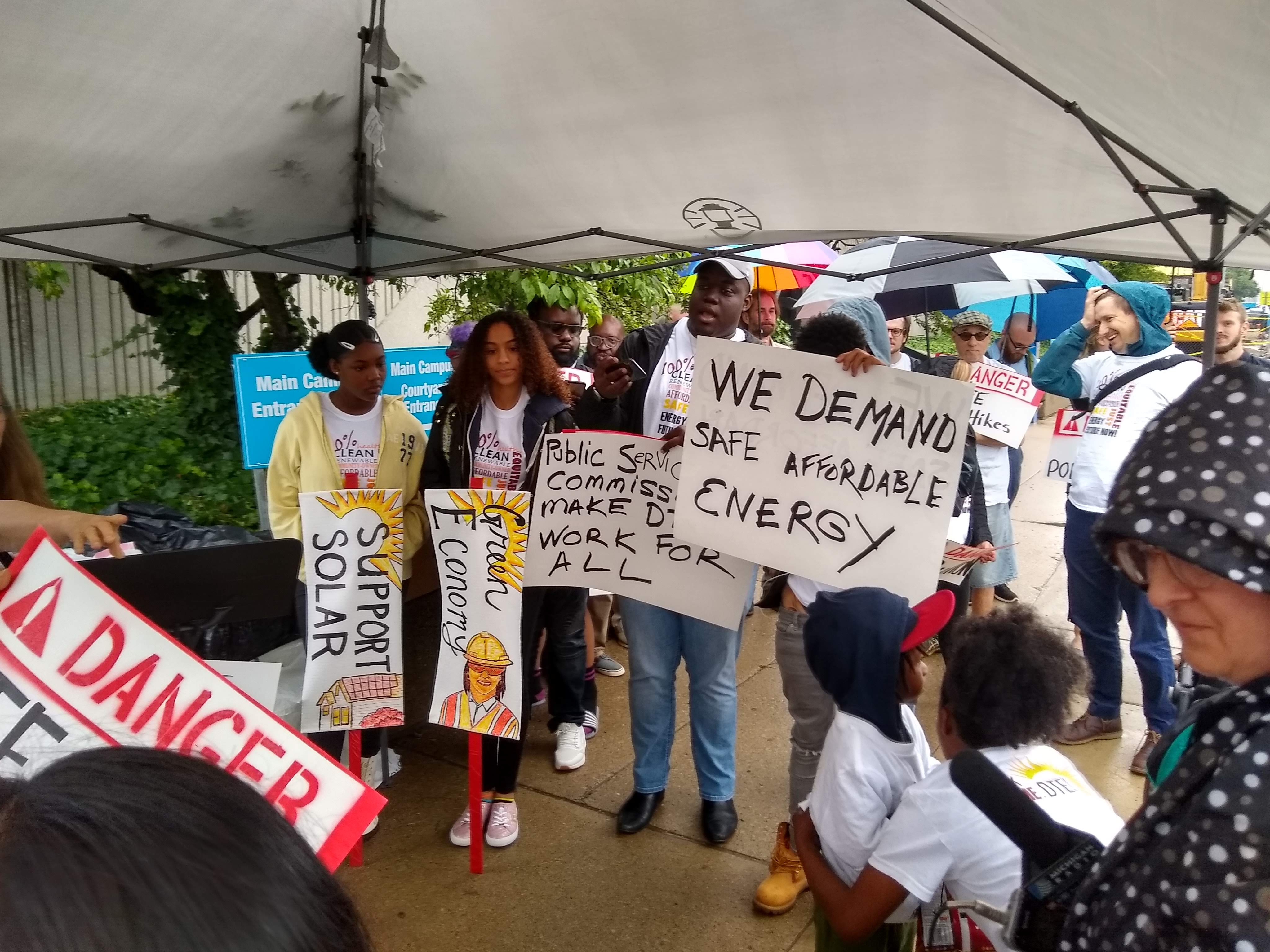 DTE Protest