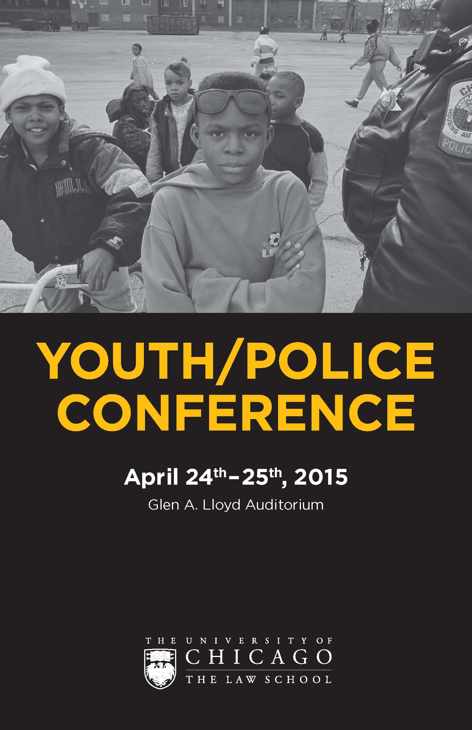 Youth/Police program cover