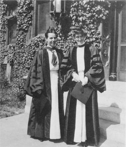 Talbot (left) and Breckinridge (right). University of Chicago Photographic Archives.