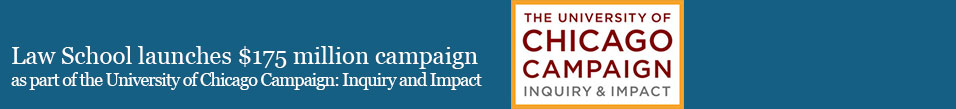 Announcing the University of Chicago Campaign: Inquiry and Impact
