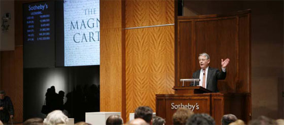 image of Sotheby's auction