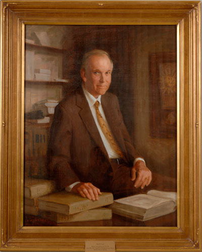 portrait of David Currie