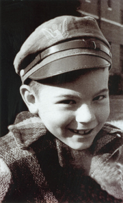 David Currie as a child