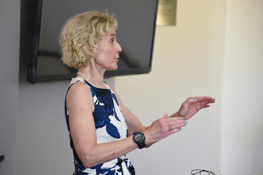 "Other speakers included Martha Nussbaum, the Ernst Freund Distinguished Service Professor of Law and Ethics, who gave a talk titled, """"The Capabilities Approach: A Fruitful Partnership Between Economics and Philosophy."""