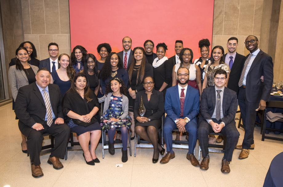"The event ""was a wonderful opportunity to get current BLSA students in touch with our accomplished alumni to share common expierences and memories while we honor an inspiration to our legal community, Judge Jackson,"" Hassanein said."