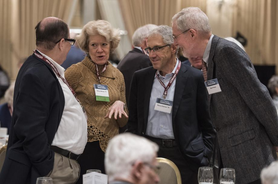A day earlier, alumni gathered and reconnected at the Annual Loop Luncheon.