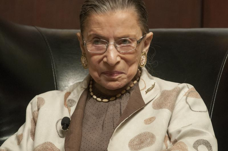 Ginsburg talked about her time as a litigator before she became a judge.